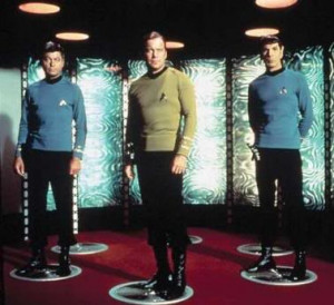 Everyone remember where we parked. - Captain Kirk