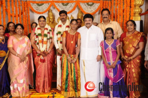 Producer Anbalaya K Prabakaran Daughter Wedding Stills
