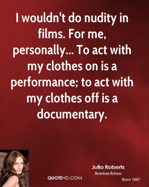 Julia Roberts Quotes