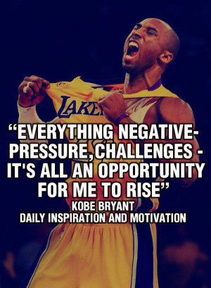 Everything negative-pressure, challenges, it's all an opportunity for ...