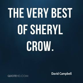 David Campbell - The Very Best of Sheryl Crow.