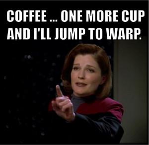 TO WARP. Star Trek Voyager Captain Kathryn Janeway #StarTrek #Voyager ...