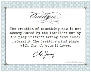 the creative mind. {carl jung quote}