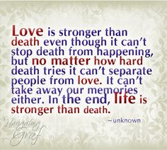 Death Grief...