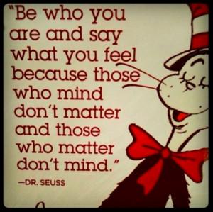 Wisdom from Dr Seuss : Inspiring Quotes