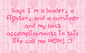Mom Facebook Status On Hearts Background