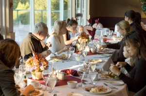 ... family members navigate a successful and enjoyable BIG family dinner