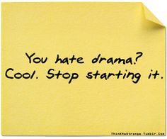 love it! NO time for drama! High school ended years ago and I have no ...