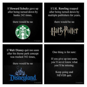There Would Be No Starbucks,Harry Potter,Disney Land