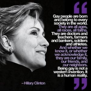Hillary Clinton nails it