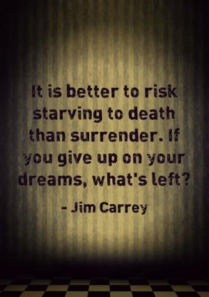 Jim Carrey Quote