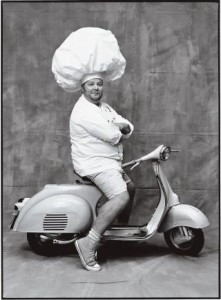 Mario Batali from an article by Bill Buford in The New Yorker