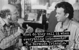 The Bermuda Triangle.