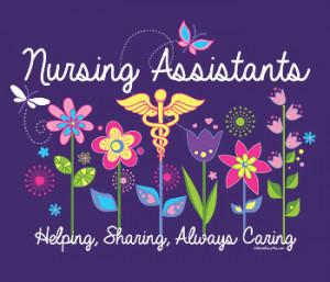 Nursing Assistants' Week 2014