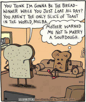 ... Funny cartoons , Funny Pictures // Tags: Funny bread cartoon