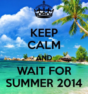 Can't wait for summer to come!!!!
