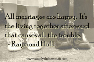 Quotes can be a great way of adding a little class to your wedding ...