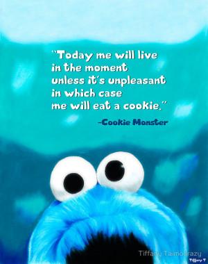 Cookie Monster Motivational