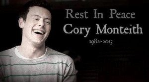 quotes cory monteith | via Facebook