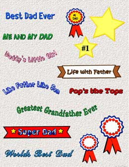Fathers Day Sayings and Clip Art