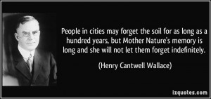 More Henry Cantwell Wallace Quotes