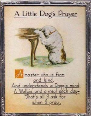 Dogs Prayer