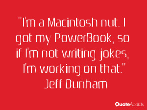 macintosh nut i got my powerbook so if i m not writing jokes i m ...