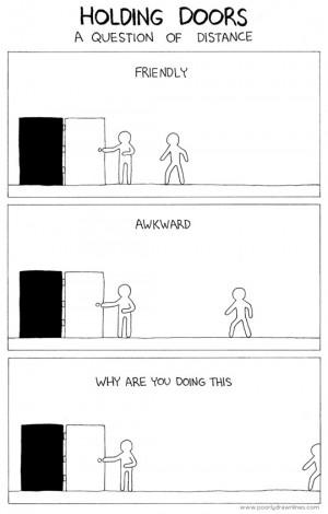 Funny photos funny holding doors awkward