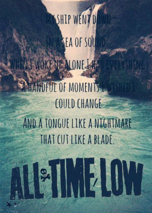 All Time Low- Therapy