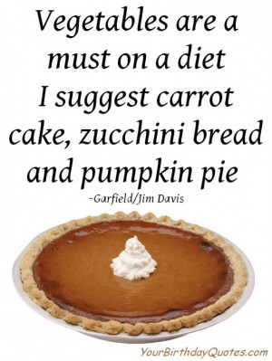 Funny Quote for the Thanksgiving Season