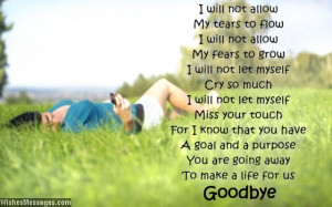 how do i say goodbye sweet goodbye poem for good bye poem poems about ...