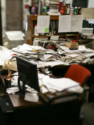 found in a series of linked studies - using a messy desk and a messy ...
