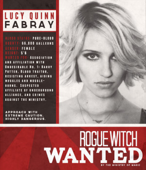 Quinn Fabray Quotes Wanted: lucy quinn fabray