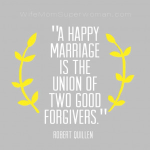 Marriage quote by Robert Quillen