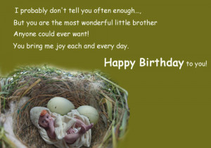 ... want! you bring me joy each and every day. Happy Birthday to you