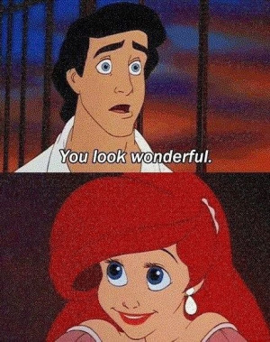 Little Mermaid's Ariel and Prince Eric via www.Facebook.com ...