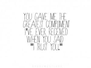 trust you.