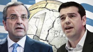 Antonis Samaras und Alexis Tsipras Bild picture alliance dpa