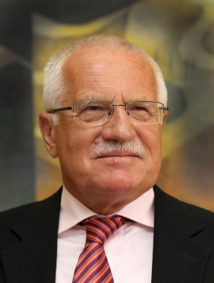 Description Vaclav Klaus...