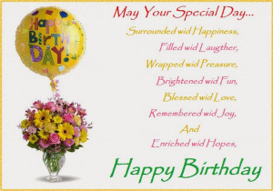 Wishing U a very very Happy Birthday!!!