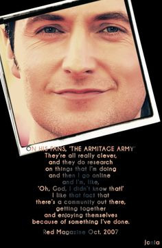 richard armitage quotes - Bing Images