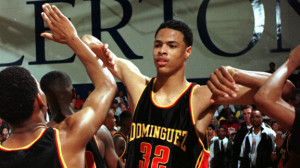 Tyson Chandler Dominguez High School Dominguez high and nba scouts