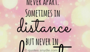 inspirational quotes about distance quotesgram