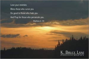 ... Bless Those Who Curse You Do Good To Those Who Hate You - Bible Quote