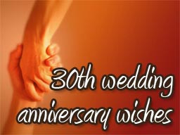 Funny Quotes For 30th Wedding Anniversary ~ 30th Wedding Anniversary ...