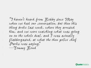 Tommy Bond