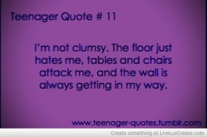 Im Not Clumsy