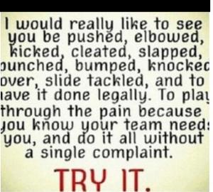 dare you. #soccer