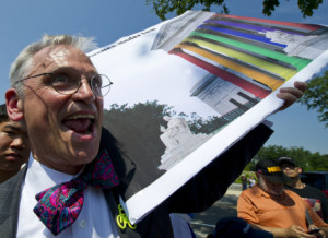 Rep. Earl Blumenauer , D-Ore., rallied with activists at the Supreme ...