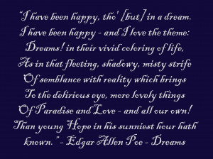 Edgar Allan Poe Quotes 15, A picture with an Edgar Allan Poe quote ...
